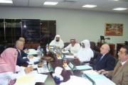 معالي الأمين العام لمنظمة المؤتمر الإسلامي ومعالي الدكتور صالح بن حميد في زيارة عمل للمجمع