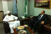 وزير الشؤون الدينية والأوقاف الجزائري في زيارة لمقر المجمع