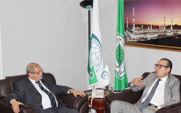 أمين المجمع يستقبل الممثل التركي الدائم بمنظمة التعاون الإسلامي