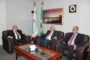 سعادة السفير القنصل الفلسطيني العام بجدة في زيارة للمجمع