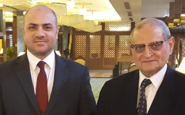 وزير الأوقاف الأردني في زيارة لأمين مجمع الفقه الإسلامي الدولي