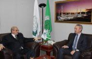 معالي الأستاذ الدكتور عبدالسلام العبادي يستقبل قنصل كازاخستان